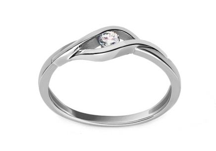 Bague en diamants 0.080 ct Suzzi white