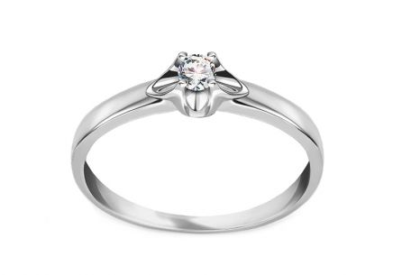 Bague en diamants Round 0.080 ct